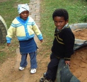 Children orphaned by HIV in South Africa