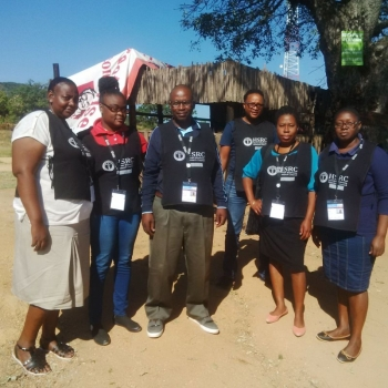 Collecting HIV survey statistics in South Africa