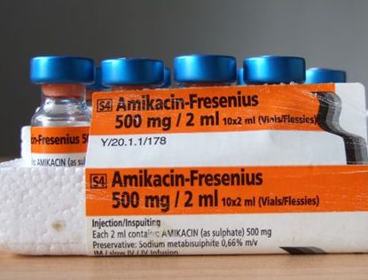 Amikacin, a second line injectable drug