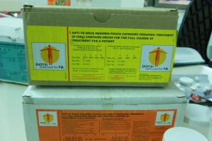 RNTCP patient wise child boxes for TB treatment of children in India