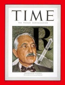 Waksman on the cover of Time magazine