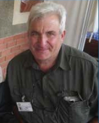 Dr Tony Moll, senior medical officer at the Church of Scotland hospital in Tugela Ferry, where care is provided for people with XDR TB